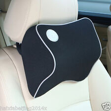 Head Neck Support Cushion Memory Foam Car Seat Headrest Pad Pillow Cervical