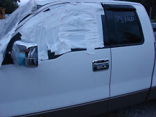 2004 Ford F150 Pickup White Front Driver Side Door