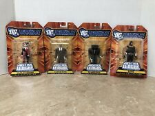 Lot DC Universe Justice League Unlimited Fan Collection Harley Quinn Clock King+
