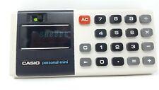 Vintage Calculator CASIO Personal Mini Electronic Casio Computer Japan