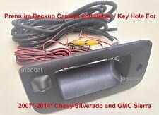 Backup Camera & Bezel for 07-14 Chevy Silverado & GMC Sierra Aftermarket Radio