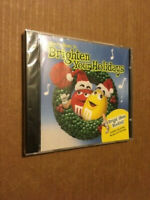 """NEW/SEALED HOLIDAY MUSIC CD - """"MERRY MUSIC TO BRIGHTEN YOUR HOLIDAYS"""""""