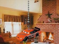 DISNEY CARS No Stall 123 Piston Cup Ceiling Fan Pull Light Lamp Chain K1093 A2
