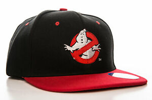 Officially Licensed Ghostbusters Logo Adjustable Size Snapback Cap