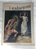 Leslie's Illustrated Weekly Newspaper The War in Pictures May 3rd 1917