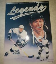 1991 WAYNE GRETZKY Legends Sports Magazine w/Joe Montana, Magic Johnson Inserts