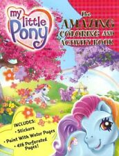 ULTRA RARE - My Little Pony Coloring Activity Book Embossing Plate DEC '05 - HTF