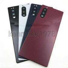 For Sony Xperia 5 X5 J8210 J8270 Back Battery Cover Rear Door +Camera lens +Glue