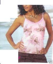 Geblümte Damenblusen, - tops & -shirts mit Spitze M