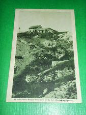 Cartolina Monte Grappa - Rifugio Ristoratore del CAI sezione di Bassano 1930 ca