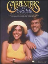 Carpenters for Ukulele Chord & Melody Songbook Solitare Ticket To Ride Superstar
