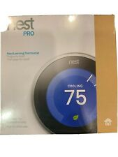 Nest 3rd Generation Programmable Thermostat T3008US - Stainless Steel