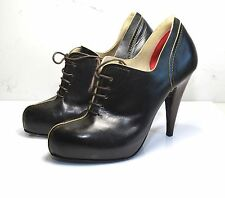 Guillaume Hinfray en cuir marron asi oxford chaussures eu 37.5/uk 4.5