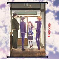 Anime Fruits Basket Otaku Wall Gift Scroll Poster Home Decor Cosplay 60×90cm #B5