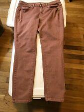 Mossimo Curvy Skinny Powerstretch pink 12R 31 waist