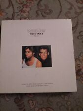 Wham The Final Box Set 2 x GOLD Vinyl Record & All Extras  apart from T-shirt