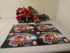 (GO)LEGO TECHNIC 8258 CRANE TRUCK MIT POWER FUNKTION MIT BA 100% KOMPLETT