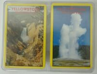 Vintage Set YELLOWSTONE National PARK New Sealed Playing Cards