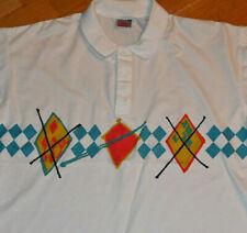 *1990's NIKE TENNIS POLO* vtg 80's party shirt (L/XL) John McEnroe Andre Aggassi