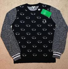 Authentic Kenzo Women Allover Eye Sweater Size M US Seller