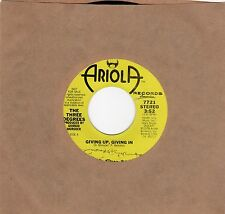 The Three Degrees-Giving Up, Giving In (VG+ Promo)