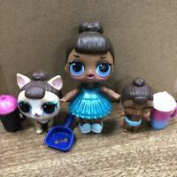 PET & BIG SISTER & LIL LOL Surprise LiL  L.O.L. MISS BABY glam  doll SDUK