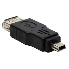 USB 2.0 A Female to Mini USB B 5 Pin Male Adapter LOT of 22