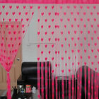 Heart Style Line String Door Curtain Tassel Window Room Curtain Divider Scarf