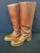 Vintage 1970s Frye Women's Riding Boots Size 6 1/2