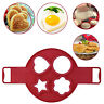 Nonstick Pancake Maker Mould Silicone Omelette Egg Ring Mold Tool Type 1
