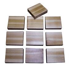 2.5 x 3 Western Red Cedar Wood Blocks Moth Repellent (12) Made in Oregon, USA