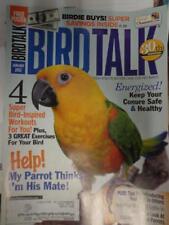 *BIRD TALK MAGAZINE Jan 12 Conure Health Wild Amazon Parrots Avian Exercises