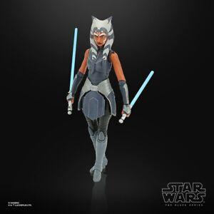 6 Inch Ahsoka Tano Clone Wars Figure Star Wars Black Series Collection TBS LOOSE