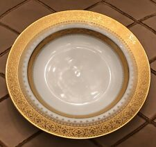 Faberge Imperial Heritage Gold encrusted Rim Soup