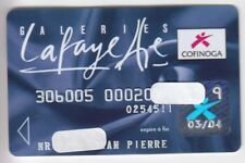 CARTE / CARD  BANQUE BANK CREDIT .. ANCIENNE OLD CB COFINOGA PERIMEE MAGNETIQUE