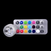 Unterwasser-Licht 3Led Batterie Wasserdichte Fernbedienung 1ABG WRXJ