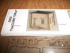 GC Laser Building Kit N Scale The Cube Office  Kit #0902 Bob The Train Guy