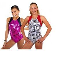 """NEW Snowflake Safari Gymnastic/Dance leotard age 9-10 Years (30"""")"""