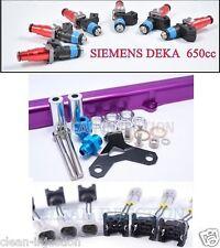 Toyota Supra MKIV 2JZGTE Turbo 2jz-gte Siemens Deka 650cc rail fuel injectors