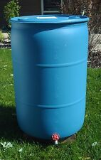 Big Blue Rain Barrel - 55 Gallon