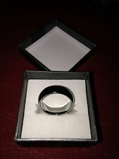 Size 10 Tungsten Carbide Wedding Band