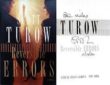 Scott Turow~SIGNED~Reversible Errors~1st/1st HC