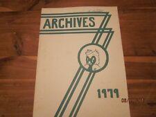 1979 John Adams Junior High, Mason City, Iowa Archives Yearbook Annual - Nice!