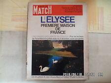 PARIS MATCH N°866 13/11/1965 L'Elysée Bogart ST Germain des Prés De Gaulle G44