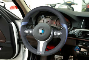 BMW F30 M2 M3 M4 M5 Steering Wheel Suede Stitch on Cover Kit AU seller