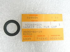 Kawasaki NOS NEW  92065-004 Oil Filler Cap Gasket