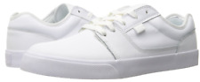 DC Shoes Mens Retro White Tonik Leather Low Top Skate Shoes Size US 11 EU 44.5