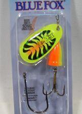 Blue Fox Super Vibrax 3/8 #4 Firetiger Treble Siwash Trolling Fishing Lure New