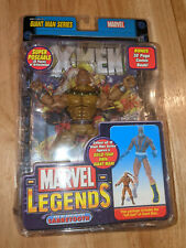 "Sabretooth Age Of Apocalypse Marvel Legends Action Figure & Comic Book 6"" ToyBiz"