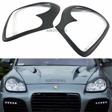 Porsche Cayenne 955 Eyebrows Headlight Spoilers Lightbrows Eye Lids Brows 02-07